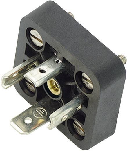 Binder 43-1715-000-04 Magnetische klepconnector model A serie 210 Zwart Aantal polen:3+PE Inhoud: 1 stuks