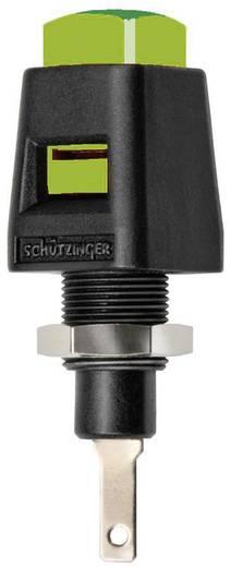 Schützinger ESD 4323 GN Inbouw-sneldrukklem Groen 5 A 1 stuks