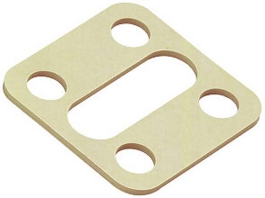 Binder 16-8090-000 Vlakke afdichting voor magnetische klepconnector model A serie 210 Beige Inhoud: 1 stuks