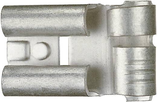 Klauke 3725 Vlakstekker Insteekbreedte: 6.3 mm Insteekdikte: 0.8 mm 90 ° Ongeïsoleerd Metaal 1 stuks