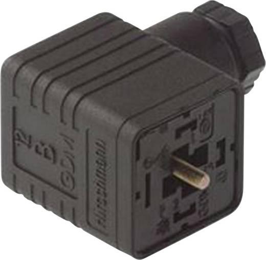 Hirschmann GDM 3016 Rechthoekige connector GDM-serie Zwart Aantal polen:3 + PE Inhoud: 1 stuks