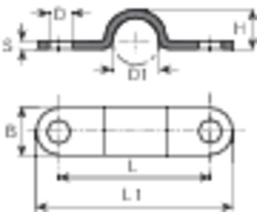 Vogt Verbindungstechnik 5120a.99 Klembeugel Contactoppervlakte Verzinkt 1 stuks
