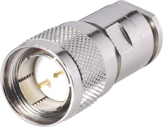 BKL Electronic 416001 Twinax-connector Stekker, recht 105 Ω 1 stuks