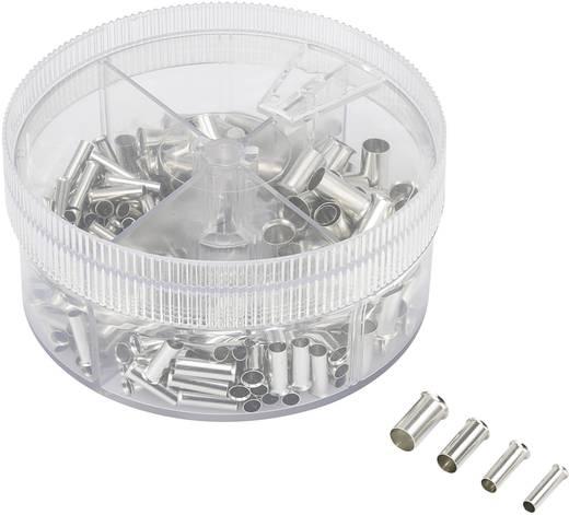 Conrad Components 93014c624 Adereindhuls assortiment 4 mm² 16 mm² Metaal 230 stuks