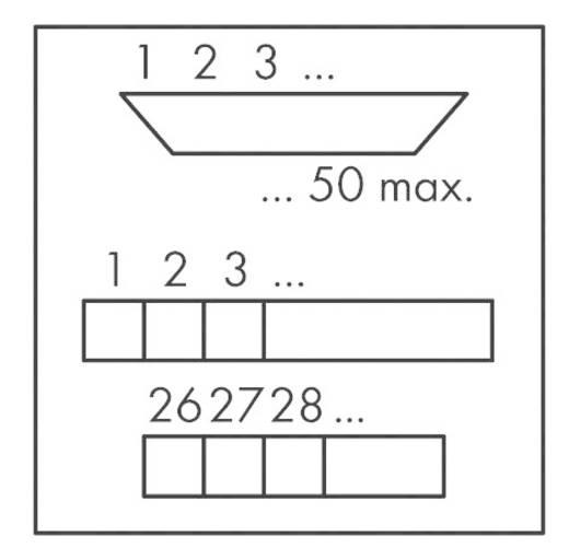 WAGO 289-448 Sub-D Overgeefbouwsteen 0.08 - 2.5 mm² Inhoud: 1 stuks