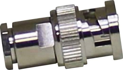 BNC-connector Stekker, recht 50 Ω 1 stuks