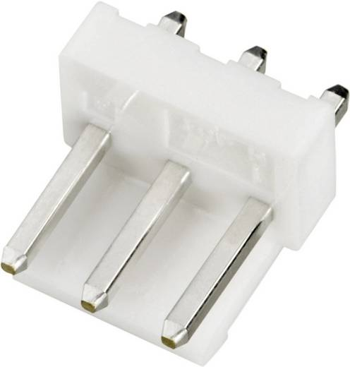 JST B3P-VH (LF)(SN) Male header (standaard) VH Totaal aantal polen 3 Rastermaat: 3.96 mm 1 stuks