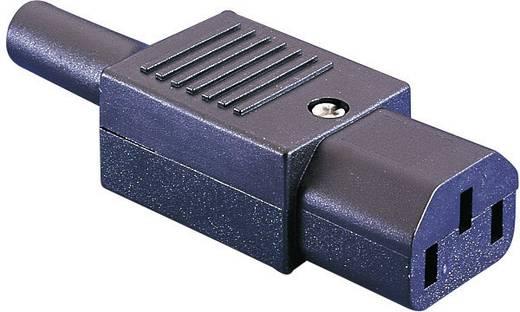 Apparaatstekker C13 Serie (connectoren) PX Bus, recht Totaal aantal polen: 2 + PE 10 A Zwart Bulgin PX0587 1 stuks