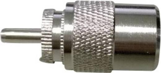 UHF-connector Stekker, recht 50 Ω 1 stuks