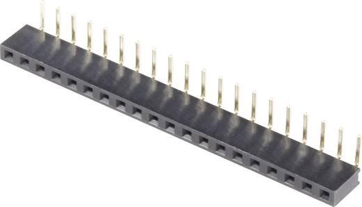 Female connector (standaard) Aantal rijen: 1 Aantal polen per rij: 20 BKL Electronic 10120804 1 stuks