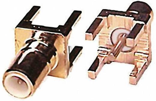 SMB-connector Stekker, inbouw verticaal 50 Ω 1 stuks
