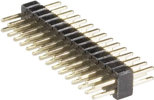 Male header (standaard) Aantal rijen: 2 Aantal polen per rij: 10 BKL Electronic 10120304 1 stuks
