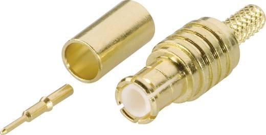 Amphenol MCX1121A1-3GT30G-5-50 MCX-connector Stekker, recht 50 Ω 1 stuks