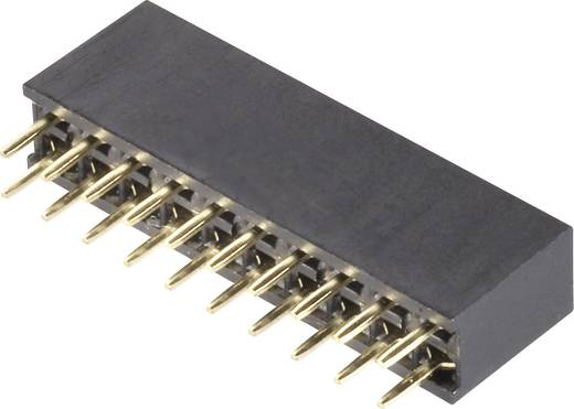Female header (standaard) Aantal rijen: 2 Aantal polen per rij: 13 BKL Electronic 10120231 1 stuks