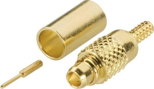 Amphenol MMCX1121A1-3GT30G-5-50 MMCX-connector Stekker, recht 50 Ω 1 stuks