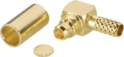 Amphenol MMCX1112A1-3GT30G-14-50 MMCX-connector Stekker, haaks 50 Ω 1 stuks