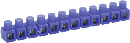 Kaiser 663/bl Lasklem Flexibel: 2.5-6 mm² Massief: 2.5-6 mm² Aantal polen: 12 1 stuks Blauw