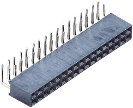 Female header (standaard) Aantal rijen: 2 Aantal polen per rij: 13 BKL Electronic 10120822 1 stuks