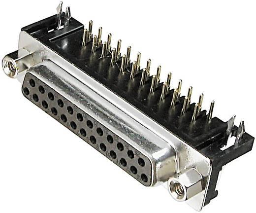 ASSMANN WSW A-DF 25 A/KG-T2 D-SUB bus connector 90 ° Aantal polen: 25 Solderen 1 stuks