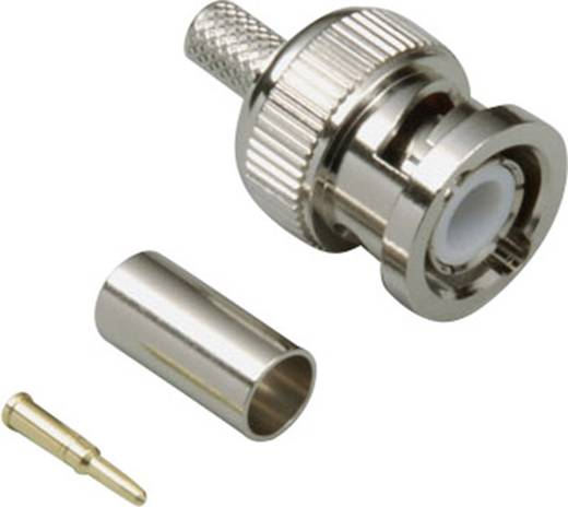 BKL Electronic 0401274 BNC-connector Stekker, recht 50 Ω 1 stuks