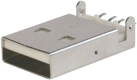 ASSMANN WSW A-USB A-LP-SMT-C USB-bus ultravlak USB A (SMT) Stekker, inbouw 1 stuks