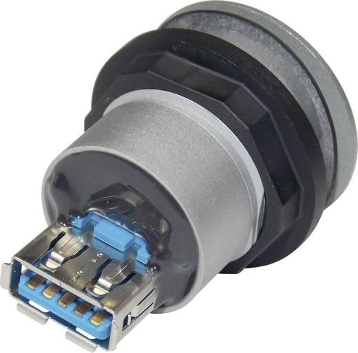 Bus, inbouw RRJ_USB3_AA Voor: USB-bus type A · Achter: USB-bus type A Schlegel 1 stuks