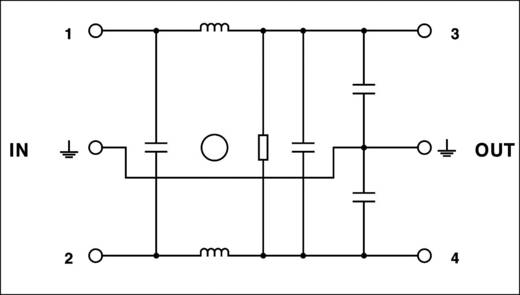 Phoenix Contact NEF 1- 3 Ontstoringsfilter 240 V/AC 3 A 2.7 mH 1 stuks