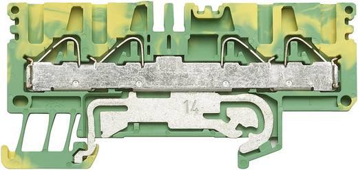Weidmüller PPE 2.5/4/4AN Beschermingsleiding-klem PPE Groen-geel 1 stuks