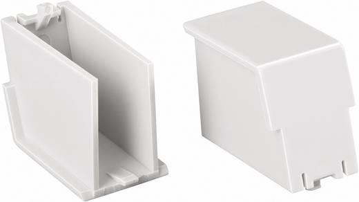 Phoenix Contact BC 17,6 BS U22 KMGY DIN-rail-behuizing afsluitstop 17.6 Polycarbonaat Lichtgrijs 1 stuks