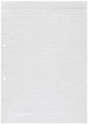Weidmüller ESO 7 A4-BOGEN WEISS Inlegplaatje 1 stuks