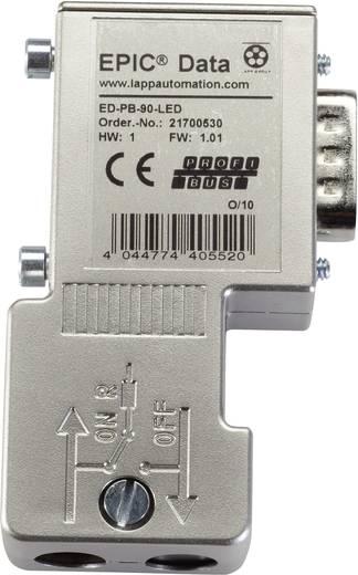 LappKabel EPIC® ED-PB-90-LED-S EPIC® Data Profibus-connector met schroefaansluiting Aantal polen: 9 Inhoud: 1 stuks