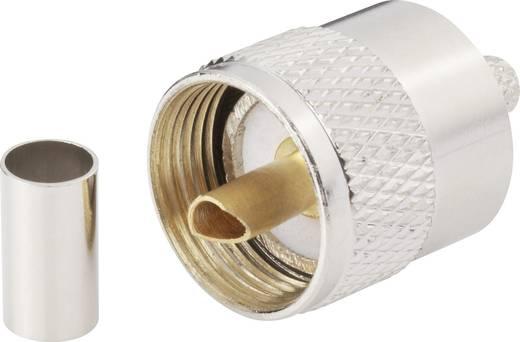 BKL Electronic 406080 UHF-connector Stekker, recht 50 Ω 1 stuks