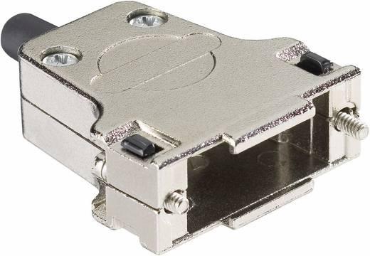 Harting 09 67 015 0344 D-SUB behuizing Aantal polen: 15 Metaal 180 ° Zilver 1 stuks