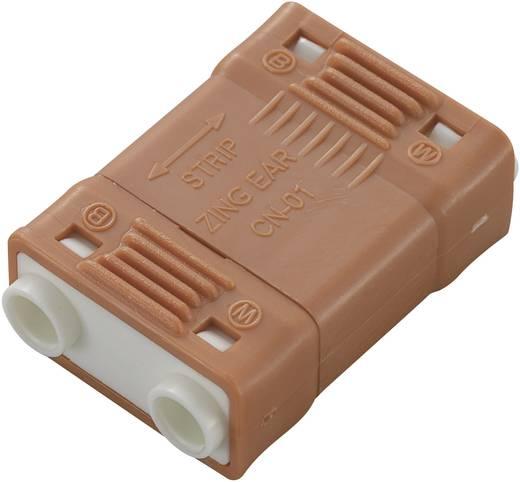 742018 Zwakstroomverbinder Flexibel: - Massief: 0.824-3.307 mm² Aantal polen: 2 1 stuks Oranje
