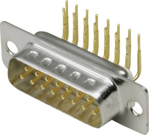 BKL Electronic 10120258 D-SUB male connector 90 ° Aantal polen: 9 Solderen 1 stuks