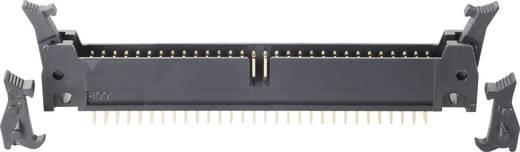 BKL Electronic Male connector Connector bijzonderheden: Met hendel kort/lang Rastermaat: 2.54 mm Totaal aantal polen: 10 1 stuks