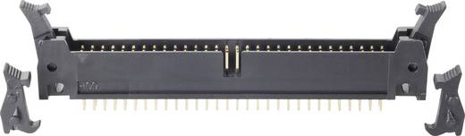 BKL Electronic Male connector Met hendel kort/lang Rastermaat: 2.54 mm Totaal aantal polen: 14 1 stuks