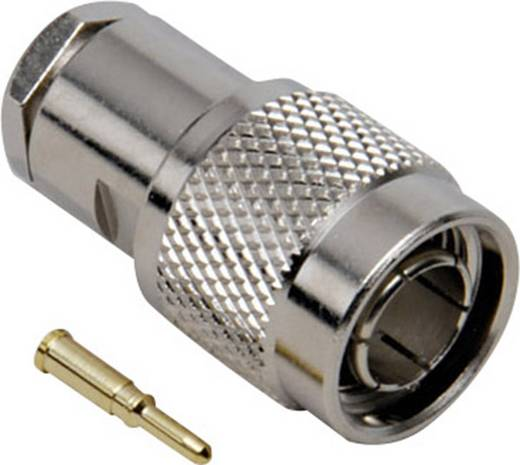 BKL Electronic 405182 TNC-connector Stekker, recht 50 Ω 1 stuks
