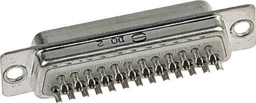 Harting 09 67 025 5615 D-SUB male connector 180 ° Aantal polen: 25 Soldeerkelk 1 stuks