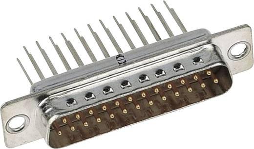 Harting 09 67 009 5655 D-SUB male connector 180 ° Aantal polen: 9 Solderen 1 stuks