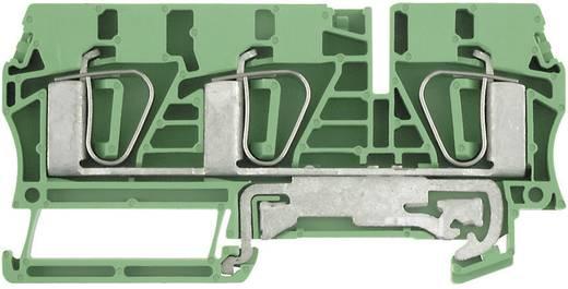 Weidmüller ZPE 6/3AN Beschermingsleiding-klem ZPE Groen-geel 1 stuks