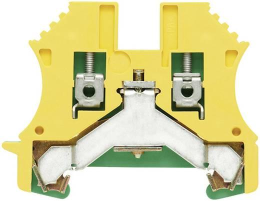 Veiligheidsgeleider-aansluitblokken WPE WPE 6 1010200000 Groen-geel Weidmüller 1 stuks