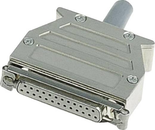 Harting 09 67 025 0453 D-SUB behuizing Aantal polen: 25 Kunststof, gemetalliseerd 180 ° Zilver 1 stuks