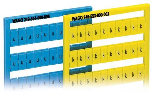 WAGO 249-554/000-006 WSB-snelopschriftsysteem 5 stuks