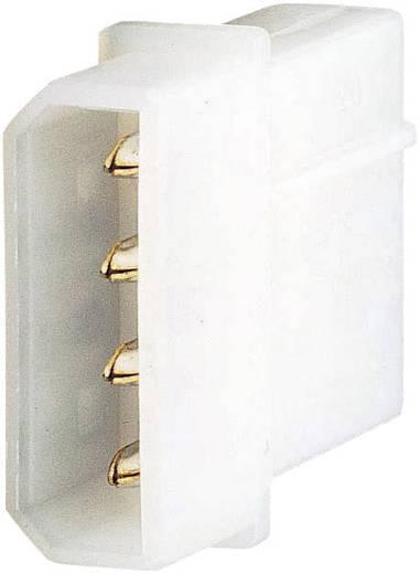 PC-voedingsstekker 13,33 cm stekker Aantal polen: 4 Inhoud: 1 stuks