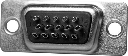 ASSMANN WSW A-HDS 15 LL/Z D-SUB male connector 180 ° Aantal polen: 15 Soldeerkelk 1 stuks