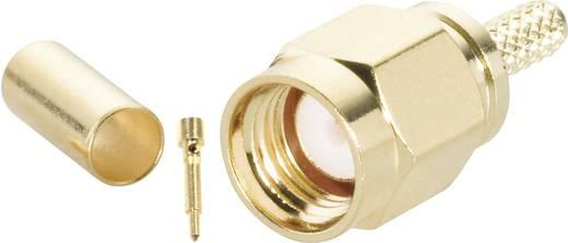 BKL Electronic 409076 SMA-connector Stekker, recht 50 Ω 1 stuks