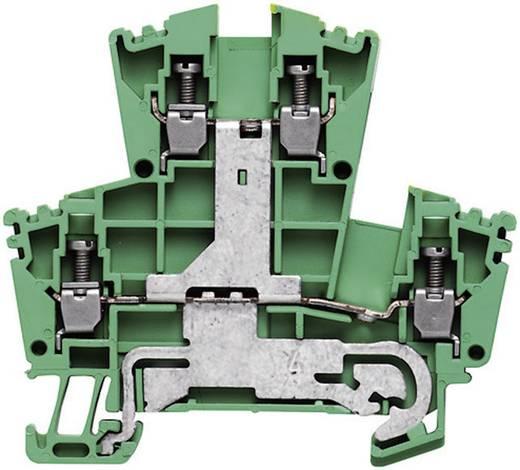 Weidmüller WDK 2.5PE 2-rijige veiligheidsgeleider-aansluitblokken - WDK Groen-geel 1 stuks