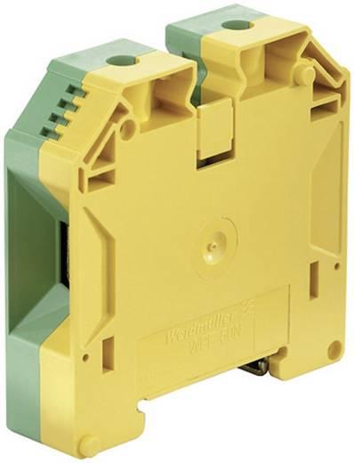 Weidmüller WPE 50N Veiligheidsgeleider-aansluitblokken WPE Groen-geel 1 stuks