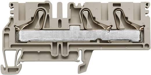 Doorgangsaansluitblokken PDU beige PDU 6/10/3AN 1896150000 Beige Weidmüller 1 stuks